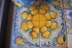 ceramica decorata a mano siracusa