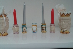 portacandela ceramica siracusa