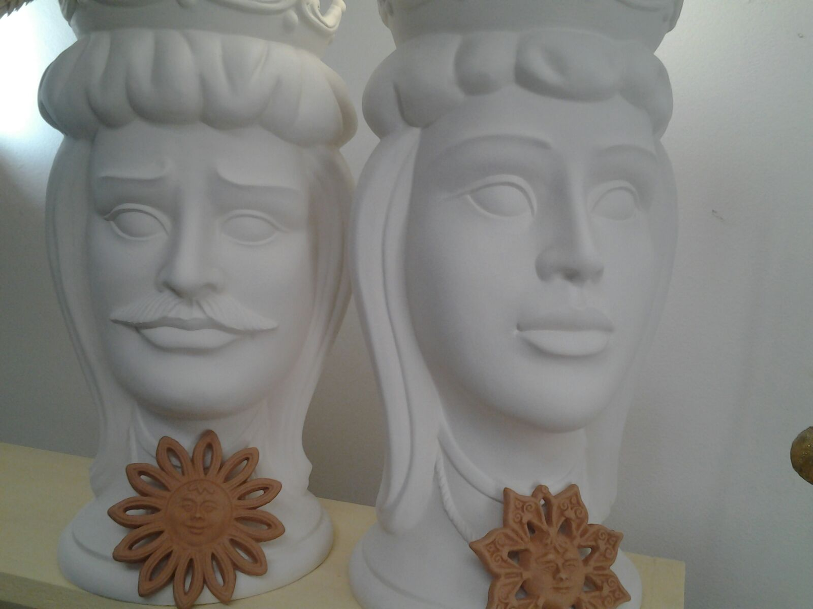 teste di moro siciliane