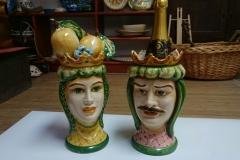 teste di moro ceramica siracusa